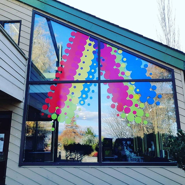 Penticton Art Gallery Window Graphics